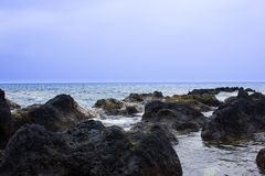 Pacific Ocean View Royalty Free Stock Photo