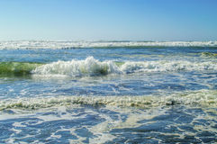 Pacific Ocean. View of the Pacific Ocean at the Long Beach Peninsula Royalty Free Stock Photography