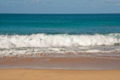 Pacific Ocean Wave Power Stock Image
