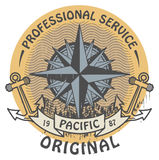 Pacific Original stamp Stock Image