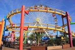 Pacific Park at Santa Monica Stock Photo