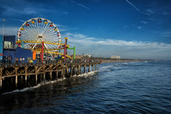Pacific Park, Santa Monica Pier Stock Images