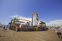 Pacific Park Santa Monica Pier Royalty Free Stock Photo