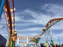 Pacific Park @ Santa Monica Pier. Theme park rides at the Pacific Park at Santa Monica Pier in Santa Monica Royalty Free Stock Image