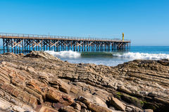 Pacific Pier Royalty Free Stock Photos