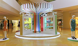 Pacific place mall fashion show, hong kong Stock Photo