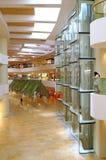 Pacific place shopping mall elevator lobby, hong kong Royalty Free Stock Image
