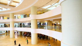 Pacific place shopping mall, hong kong stock video