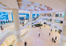Pacific Place shopping mall interior in Hong Kong Royalty Free Stock Photos