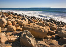 Pacific Rocky Shore Stock Images