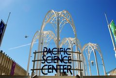 Pacific Science Center. The Pacific Science Center in Seattle, Washington royalty free stock photography