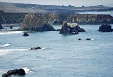 Pacific Shore California Royalty Free Stock Photography