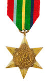 Pacific Star Medal Royalty Free Stock Photo