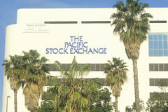 The Pacific Stock Exchange in Los Angeles, California Stock Photography