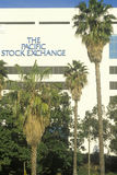 The Pacific Stock Exchange in Los Angeles, California Royalty Free Stock Photo