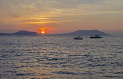 Pacific sunrise at Black sea. Stock Photography