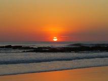 Pacific Sunset. Sunset at Santa Teresa beach, Costa Rica Stock Photography