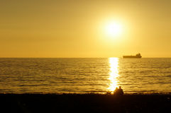 Pacific Sunset Stock Photography