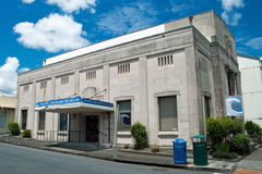 Pacific tsunami museum in Hilo Big Island Hawaii Stock Photos