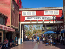 Pacific Wharf, Disney California Adventure Park Stock Photo