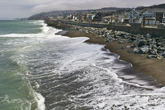 Pacifica, California coastline Stock Image