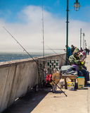 Pacifica California Fishing Stock Image