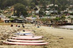 Pacifica State Beach in San Francisco lizenzfreie stockbilder