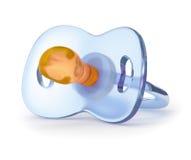 Pacificador azul del silicón Fotos de archivo libres de regalías