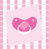 Pacificador del bebé Fotografía de archivo libre de regalías