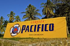 Pacifico beer from Mexico Stock Images