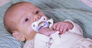 pacifier младенца акции видеоматериалы