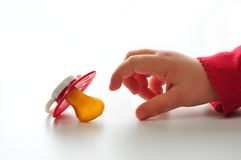 pacifier младенца Стоковое Изображение