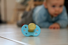 Pacifier stock images