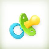 Pacifier, icon Stock Photo