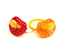 Pacifiers Royalty Free Stock Photography