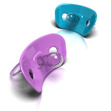 Pacifiers Royalty Free Stock Image