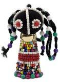 paciorkowata Afrykanin figurka Obraz Royalty Free