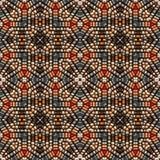 paciorkowata dekoracji plemienna Zdjęcie Royalty Free