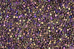 paciorkowate tło purpury Obrazy Royalty Free