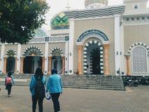 Pacitan的印度尼西亚清真寺 图库摄影