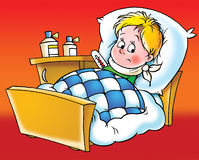 pacjent ilustracji