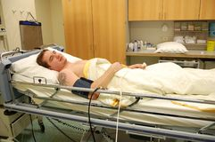 Pacjent Zdjęcie Royalty Free