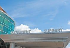 Pacjent dochodzący operaci centrum zdjęcia stock