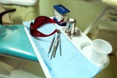 Pacjent przy dentystą Zdjęcie Royalty Free