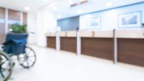 Pacjenta wózka inwalidzkiego transport W szpitalu obrazy royalty free