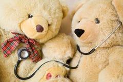 pacjentka doktora Fotografia Royalty Free