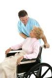 pacjentowi opieki Obrazy Stock