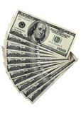 Pack of a 100 dollar bills Royalty Free Stock Photo