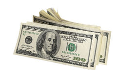Pack of American money Stock Image