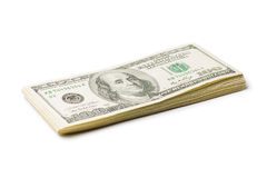 Pack of banknotes Royalty Free Stock Image